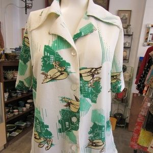 Vintage Silly Women's Blouse